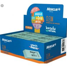 borracha mercur clean c/24