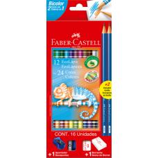lapis cor faber bicolor 12x24 cores