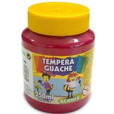 tempera acrilex 250ml magent ref 549